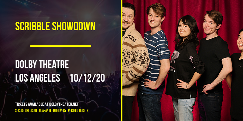 Scribble Showdown [CANCELLED] at Dolby Theatre